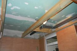 Подшивной потолок из листов гипсокартона