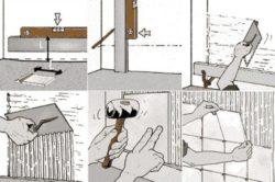 Этапы укладки плитки на гипсокартон