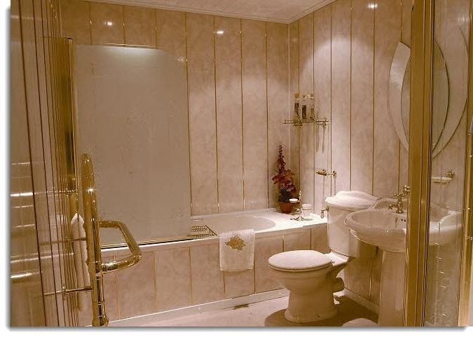 Ako obložiť steny v kúpeľni v drevenom dome