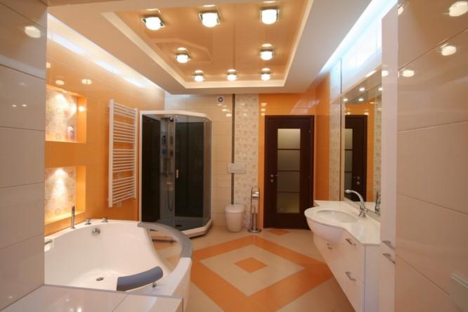 отделка потолка в туалете своими руками