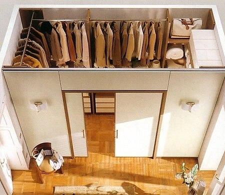Создание перегородок из листов ГКЛ – это самый простой способ создания гардеробной