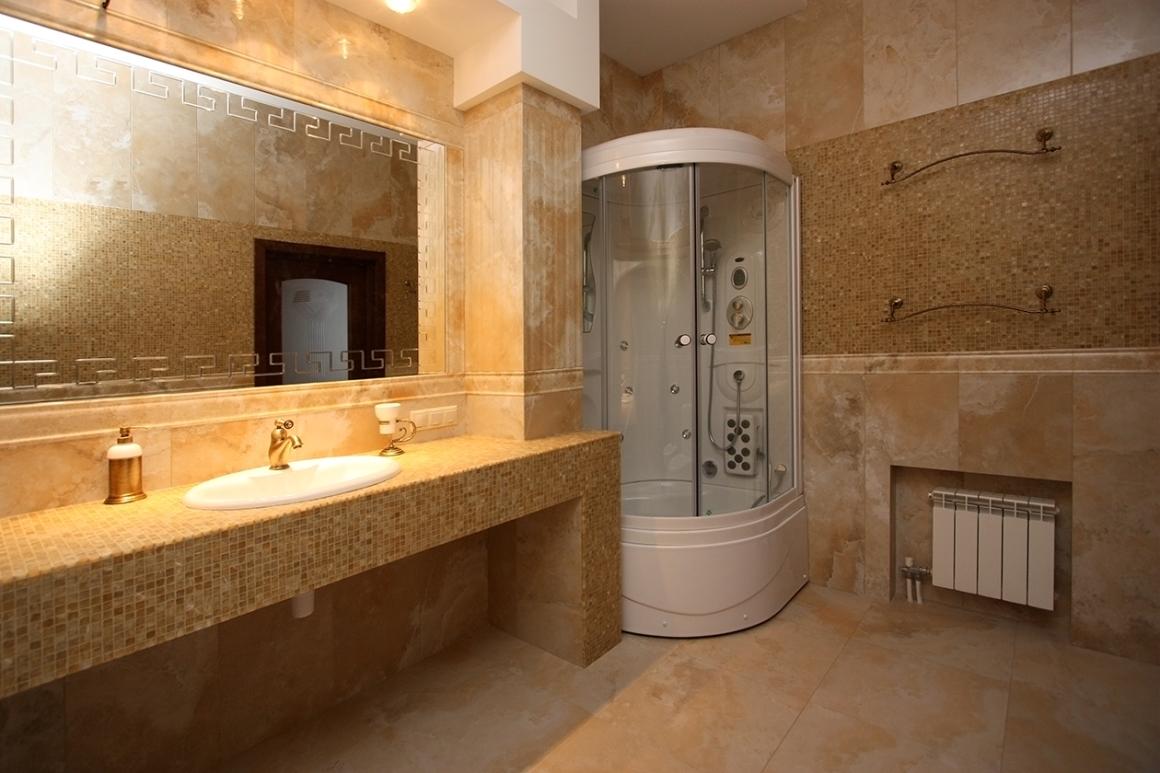 Столешница из гипсокартона для ванной комнаты