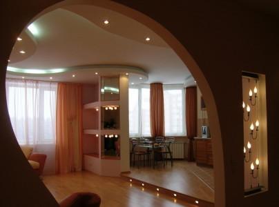 Дизайн комнаты со светодиодным освещением