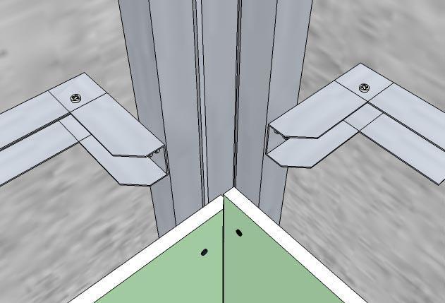 Как сделать угол из профиля под гипсокартон