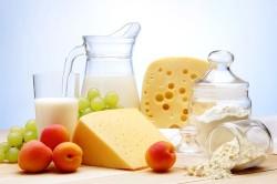 Молочные продукты  -причина вздутия живота