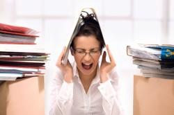 Стресс - причина черного поноса